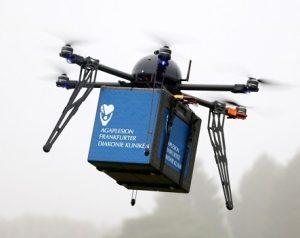 Neue Helfer der Medizintechnik: Drohnen