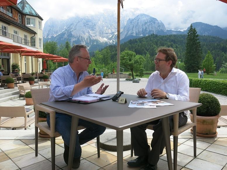 Daniel Gotthardt im Gespräch mit arzt & karriere Chefredakteur Nicolai Haase