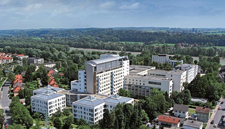 """Eines der """"Green Hospitals"""" 2016: Das RoMed Klinikum Rosenheim"""