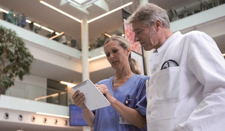 Dass die elektronische Krankenakte einer der wichtigsten Schritte in die digitale Krankenhauszukunft ist, zeigt das Beispiel des Universitätsklinikums Hamburg-Eppendorf.