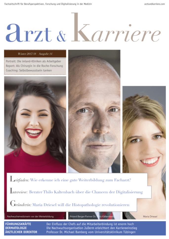 arzt und karriere magazin, arzt & karriere 2-17, arzt & karriere cover